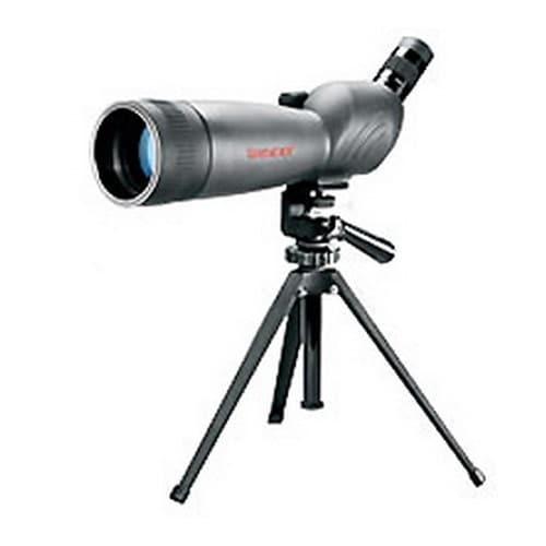 Tasco World Class Grey/Black Porro Prism 20-60x80-millimeter 45-degree Eye Piece Spotting Scope