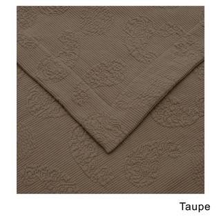 Superior Paisley Jacquard Matelasse Premium Cotton 3-piece Bedspread