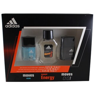 Adidas Collection Men's 3-piece Gift Set
