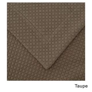 Superior Diamond Solitaire Jacquard Matelasse Premium Cotton 3-piece Bedspread