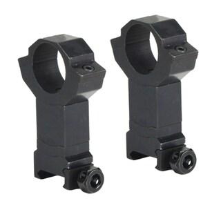 BSA Aluminum Weaver-style Adjustable-height 5/8-inch Rings