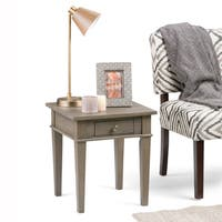WYNDENHALL Sterling End Side Table