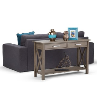 WYNDENHALL Waterloo Console Sofa Table - 47.4 Inches wide