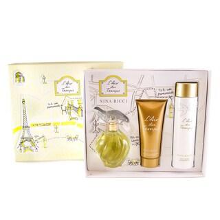 Nina Ricci L'Air Du Temps 3-piece Perfume Gift Set