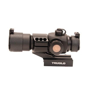 TruGlo Black Aluminum 30-millimeter 3-color AR Red-dot Sight