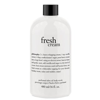 Philosophy Fresh Cream Perfumed Olive Oil 16-ounce Body Scrub