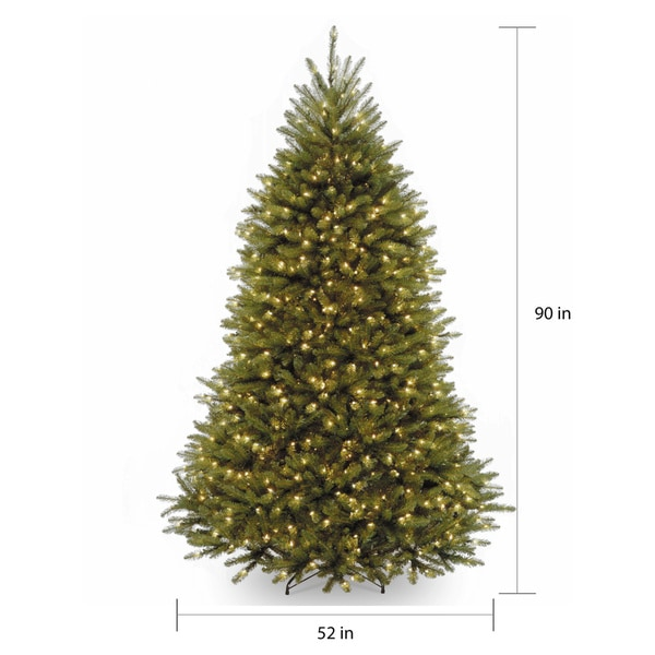 7.5-foot Fir Tree with Clear Lights