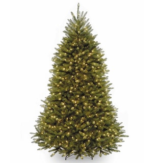 7 5 Ft Dunhill Fir Tree With Clear Lights