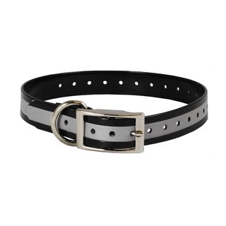 The Buzzard's Roost Reflective 1 inch Collar Strap (Option: Yellow)