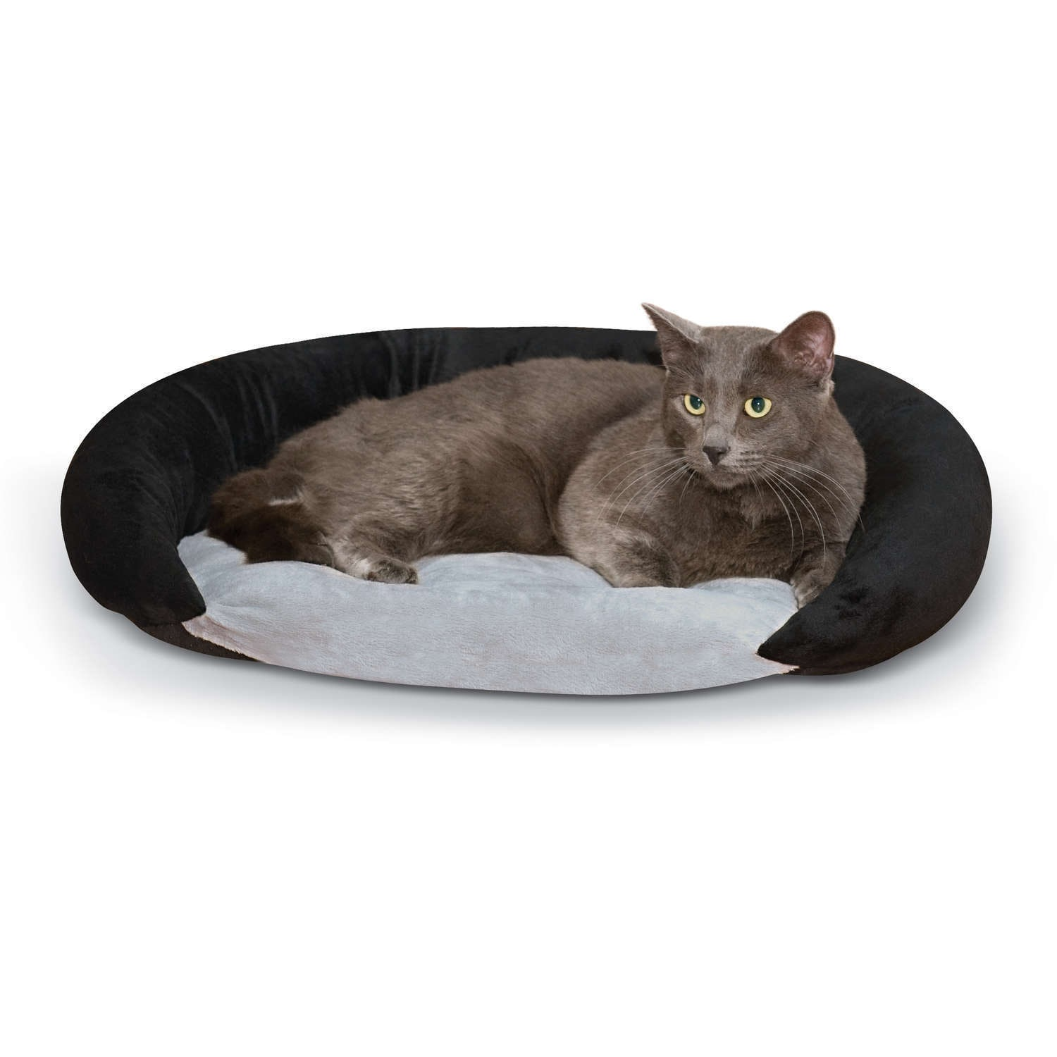K&H Manufacturing Self-Warming Pet Bolster Bed (Chocolate...