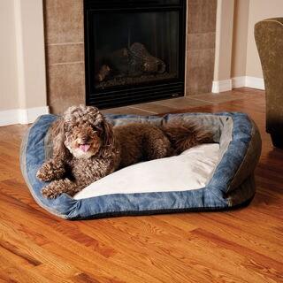 K&H Pet Products Vintage Bolster Pet Bed