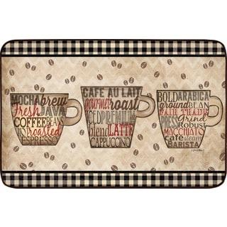 """Home Dynamix Designer Chef Collection Anti-Fatigue Beige Kitchen Mat ( 18"""" x 30"""")"""
