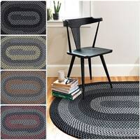 Hipster Braided Reversible Rug USA MADE - 8' x 10'