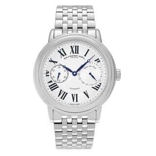 Raymond Weil Men's 'Maestro' 2846-ST-00659 Stainless Steel Chronograph Link Bracelet Watch