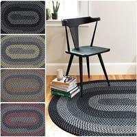Hipster Braided Reversible Rug USA MADE - 6' x 9'