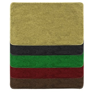 Plush Acrylic Pile Accent Rug Assorted Colors (2' x 3')
