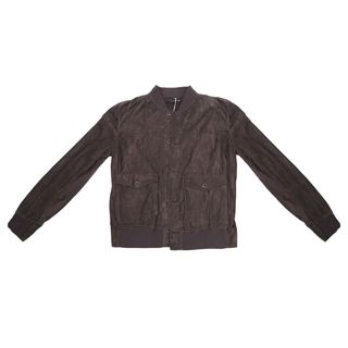 Brunello Cucinelli Men's Brown Suede Jacket