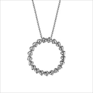 Di Modolo Rhodium-plated Sterling-silver Eternity Necklace