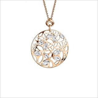 Di Modolo 18-karat Rose Goldplated Sterling Sliver Rock Crystal Necklace