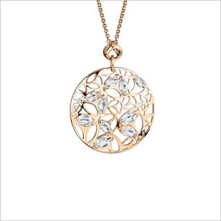Di Modolo 18-karat Rose Goldplated Sterling Sliver Rock Crystal Necklace|https://ak1.ostkcdn.com/images/products/13554636/P20232381.jpg?impolicy=medium
