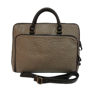 Donna Bella Designs Bueno Handbag Whitney Synthetic Leather Computer Tote Handbag