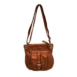 Donna Bella Designs Fallon Bronze Hobo Handbag