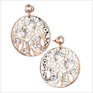 Di Modolo 18k Rose Gold-plated Sterling Silver Rock Crystal Drop Earrings