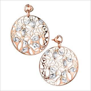 Di Modolo 18k Rose Gold-plated Sterling Silver Rock Crystal Drop Earrings
