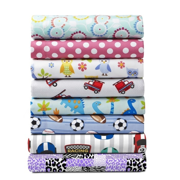 Asher Home Kid's Microfiber Sheet Set