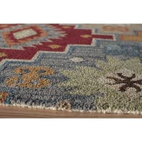 Momeni Tangier Multicolor Hand-Tufted Wool Runner Rug (2'3 X 8') - 2'3 x 8'