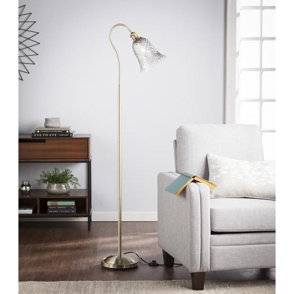 Harper Blvd Cabriso Art Glass Floor Lamp