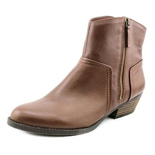 Nine West Women's Sobao Brown Leather Boots