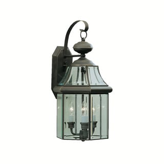 Kichler Lighting Embassy Row Collection 3-light Olde Bronze Outdoor Wall Lantern