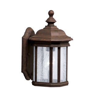 Kichler Lighting Kirkwood Collection 1-light Tannery Bronze Outdoor Wall Lantern