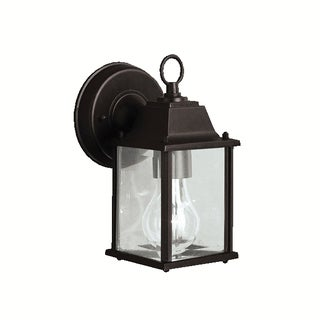 Kichler Lighting Barrie Collection 1-light Black Outdoor Wall Sconce