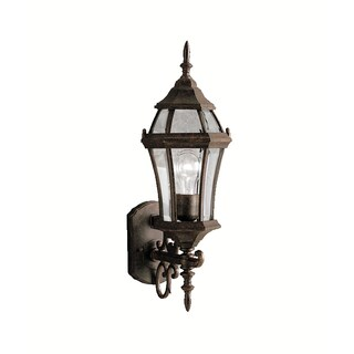 Kichler Lighting Townhouse Collection 1-light Tannery Bronze Outdoor Wall Lantern