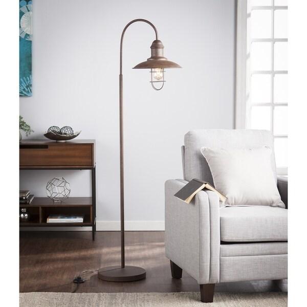 Harper Blvd Pinslo Caged Bell Floor Lamp