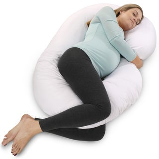 pillow with arm hole. pharmedoc c-shaped maternity pregnancy pillow with arm hole