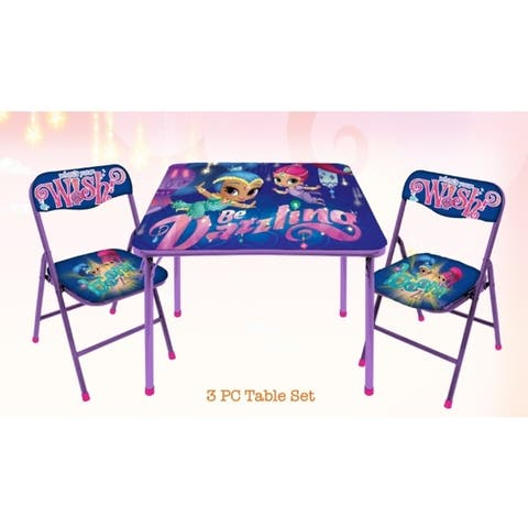 Shimmer and Shine 3-piece Table and Chair Set