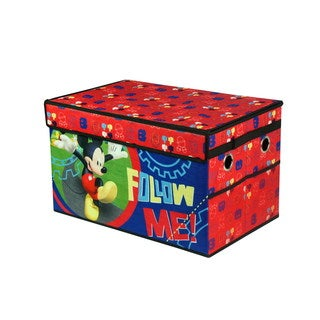 Mickey Mouse Multicolored Mini Collapsible Storage Trunk