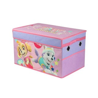 Paw Patrol Pink Canvas Mini Collapsible Storage Trunk