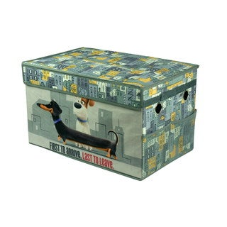 Secret Life Of Pets Mini Collapsible Storage Trunk