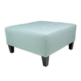 MJL Furniture Milo Squared Upholstered Oversized Ottoman