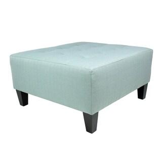MJL Furniture Milo Squared Upholstered Oversized Ottoman
