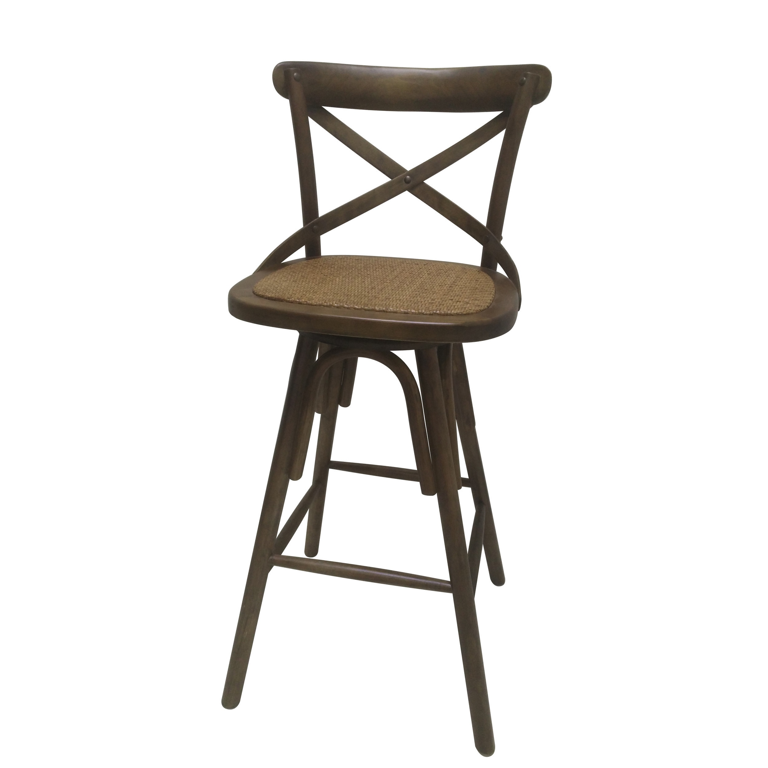 Marvelous 42 Inch Brown Wooden Swivel Barstool Alphanode Cool Chair Designs And Ideas Alphanodeonline