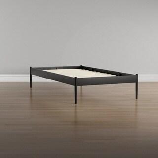Elsie Fabric Bed Frame in Brown