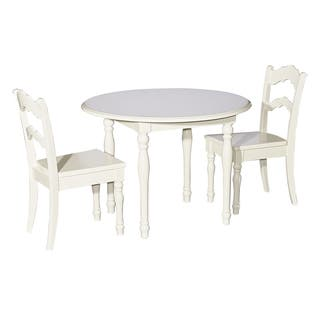Kids White Table and 2 Chairs|https://ak1.ostkcdn.com/images/products/13555013/P20232645.jpg?impolicy=medium