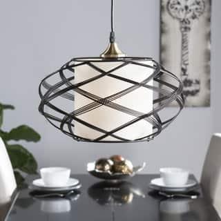 harper blvd avento wire cage pendant lamp - Kitchen Pendant Lights