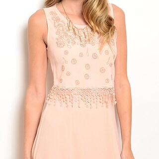 Shop The Trends Polyester Women's Sleeveless Maxi Dress
