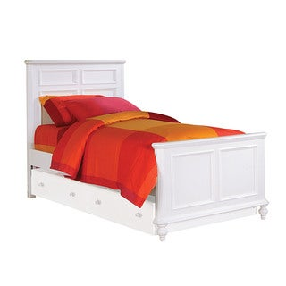 ACME Furniture White Athena Panel Bed
